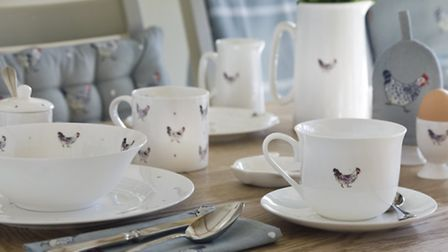 Bone china from Sophie Allport