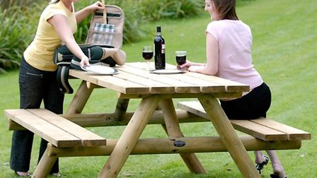 Picnic table to be won