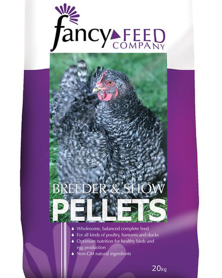 Breeder and show pellets from Fancy Feed