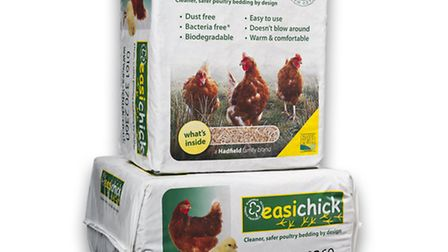 easichick bedding - just great for henkeepers