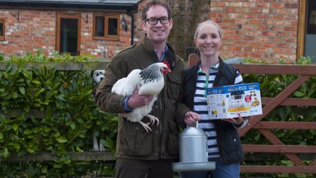 Dale and Samantha Moreton of Little Fields Farm are offering prize vouchers worth 300 for their onli