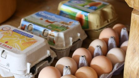In the EU, it is generally suggested that eggs should be stored at ambient temperature of around 17