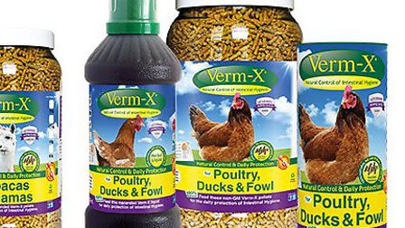 Verm-X products