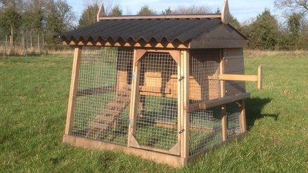The prize hen house