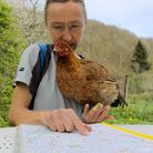 I planned a route that kept to the main roads and dual carriageways wherever possible (photo: Julie
