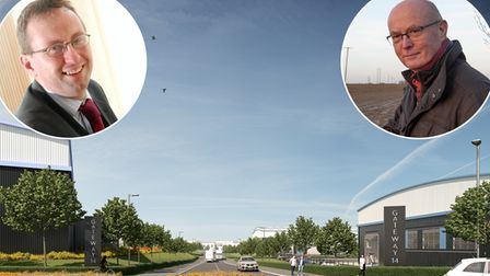 A CGI image of what the Gateway 14 entrance could look like