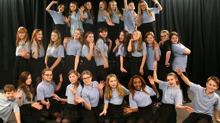 Pupils from Sprowston High School have been chosen to appear in the Royal Shakespeare Company's prod