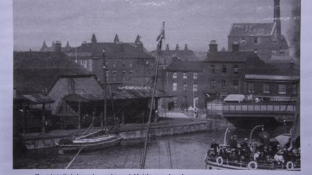An old photo of the Ice House in Great Yarmouth. Picture: Danielle Booden