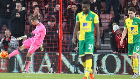 Norwich City's squad had a day to forget at Bournemouth. Picture by Paul Chesterton/Focus Images Ltd