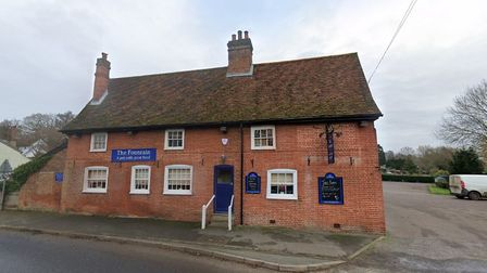 The Fountain pub in Tuddenham is just outside of Ipswich
