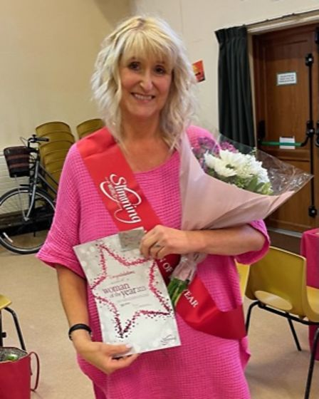 A woman from Bunwell has been named 'Woman of the Year 2021' by Slimming World's Hethersett.