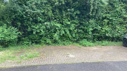 A parking space in the centre of Bury St Edmunds is for salefor £10,000
