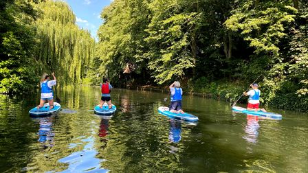 More and more people are exploring Norwich and Norfolk's waterways by paddleboard