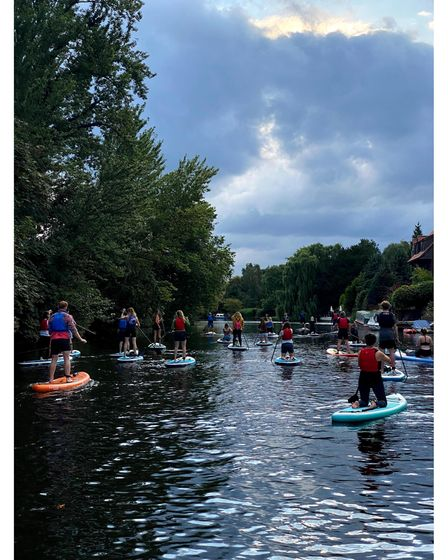 Norfolk Paddleboards holds a range of social SUPs in Norwich