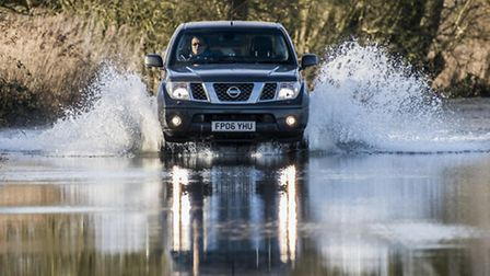 The A1101 at Welney is frequently affected by flooding during the winter. Picture: Matthew Usher.