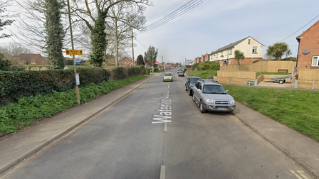 Emergency services are currently at the scene of a crash in the B1119 in Leiston