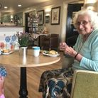 Best friends Peggy Rozier and Elsie Collins have moved into a Stowmarket care home together