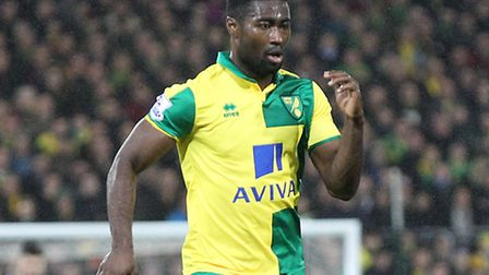Alex Tettey of Norwich City was nominated for Norway's Gullballen award. Picture by Paul Chesterton/