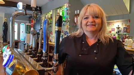 Landlady Sharron Shipp said she is humbled to have been shortlisted for the award