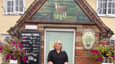 Sharron Shipp and her staff at the Chestnut Horse in GreatFinborough has been shortlisted for Great British pub of the year