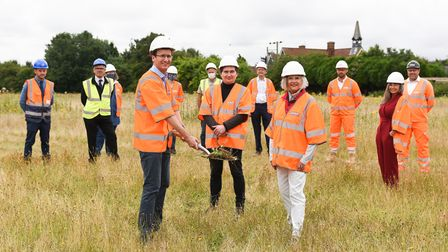 Work on a new community car park at Woolpit Health Centre has begun