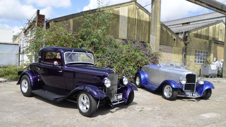 A classic cars event was held in Lenwade for Hethersett photographer Mike Key.
