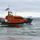 Exmouth RNLI All Weather Lifeboat R & J Welburn