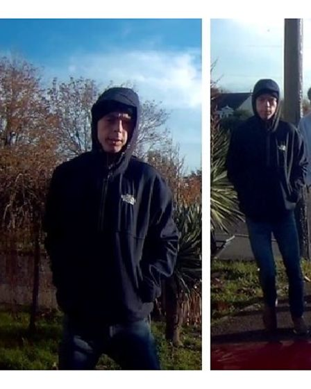 Dash footage that emerged and which helped to catch offender James Connors
