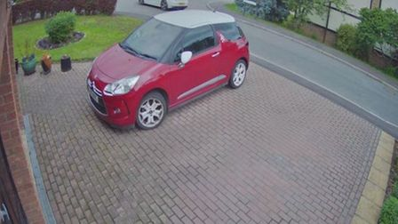 Stolen VW Golf used by James Connor in his crime spree