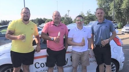28 people took part in the 18-hole charity golf competition at Old Nene Golf and Country Club in Ramsey.