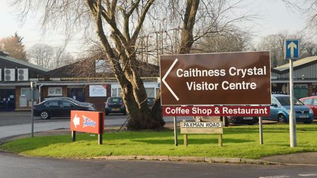 The Caithness Crystal Visitor Centre, King's Lynn. Picture: Ian Burt