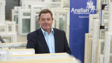 Anglian Group chief executive Brian McCluskie. Picture Richard Lee