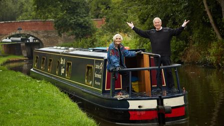 Giles & Sheila on the Canals