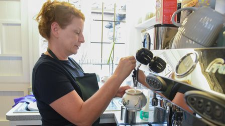 The previous owners of the west Suffolk café have stepped down