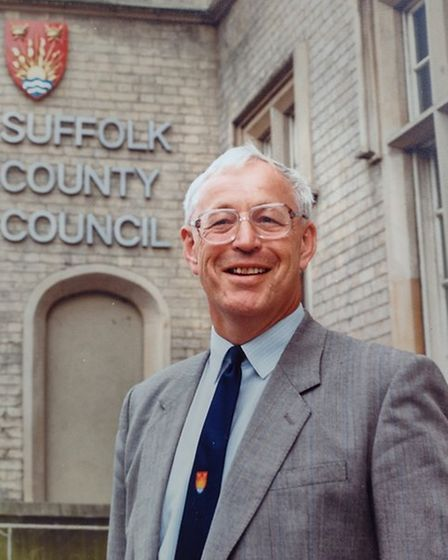 Philip Atkinson retired from Suffolk County Council in 1999.