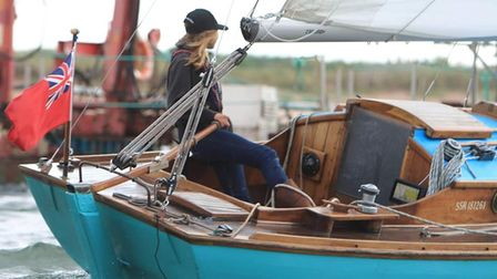 Falandacomes home, with Katie Mccabe guiding her into port