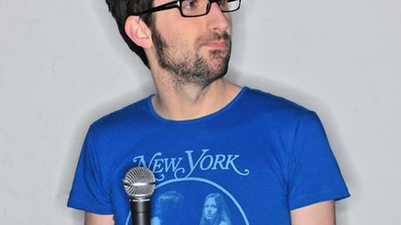 Mark Watson is at the Norwich Playhouse tonight with the preview of his new show.