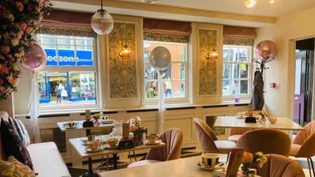 Tea at The George has just opened at The George Hotel in Colchester, specialising in afternoon tea