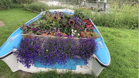 7,000 bulbs and 1,000m2 of wildflower strips are just some of the installations along the River Great Ouse.