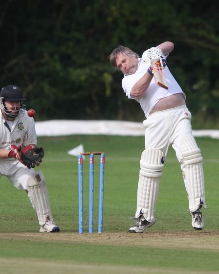 The memorial match betweena David Gibbs Memorial X1 and a Presidents X1 took place at the club on Station Road.