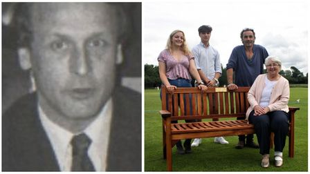 Members of the local community turned out to honour David Gibbs a popular village clubman from Sutton Cricket Club.