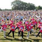 Race For Life at Chantry Park in Aid of Cancer Research. Pic Lucy Taylor ES 30 06 03