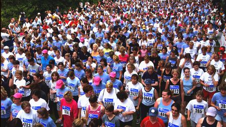 A Race for Life event in 2003