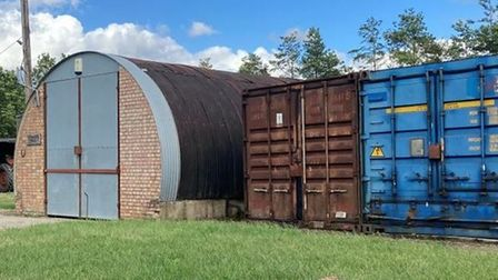 Barns at Barrowfield Farmyard, Isleham Road, Fordham will go up for sale with Cheffins for £140,000.