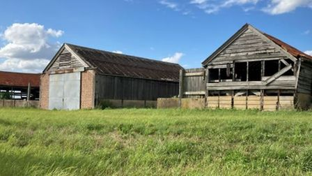 Stone Pit Hill Barns, Isleham Road, Fordham will go up for sale with Cheffins for £190,000.