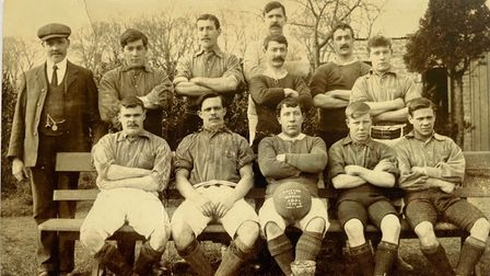 The Bailey brothers of Leiston were involved in local football as well as bell ringing