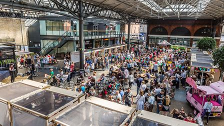 Previous 'free from' food fest was packed last time it was held at Spitalfields Market
