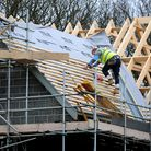 File photo dated 28/02/12 of a construction site. A growing shortage of building workers, including