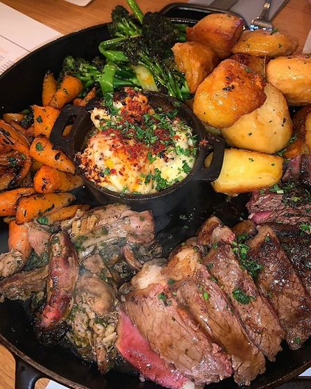 The Anchor Inn, Burwell, is one of the best places to enjoy a roast dinner in Cambridgeshire.