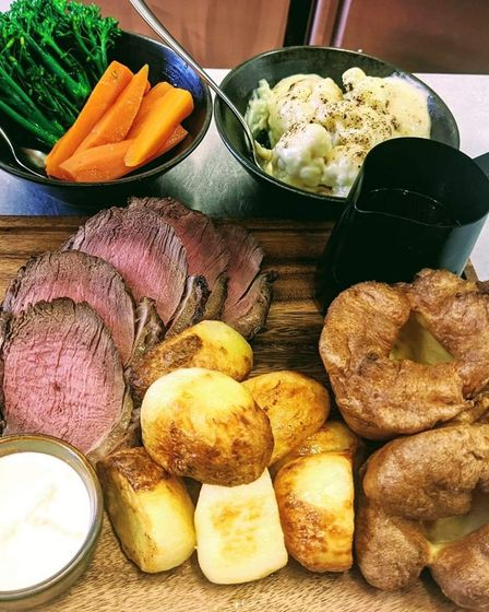 B&R Restaurant in March is one of the best places to enjoy a roast dinner in Cambridgeshire.
